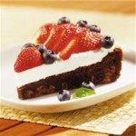 Red, White and Blueberry Torte recipe