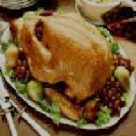 Roasted Turkey with Cranberry Fruit Dressing recipe