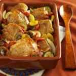 Slow Cooked Turkey and Tomatoes recipe