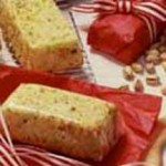 Sponge Cake with Studded Pistachios recipe