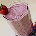 Strawberry Blues Tofu Smoothie recipe