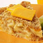 Streusel-Topped Cheesy Apple Pie recipe