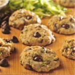 Zucchini-Oat Dark Chocolate Chip Cookies recipe