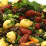 3 + 3 Bean Salad recipe