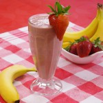 After-School Strawberry Shake recipe