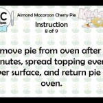 Almond Macaroon Cherry Pie recipe