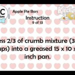 Apple-Apricot Bars recipe