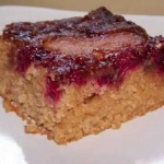 Apple-Oat Upside Down Mini Cakes recipe