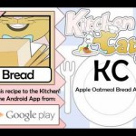Apple Oatmeal Bread recipe