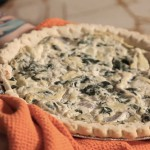 Artichoke Quiche recipe