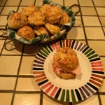 Bacon and Cheddar Biscuits recipe