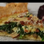 Bacon Yogurt Quiche recipe