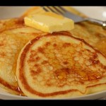 Baked Buttermilk Pancakes recipe