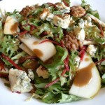 Beet, Walnut and Blue Cheese Salad recipe