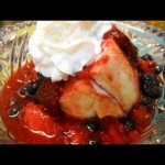 Berry Sour Cream Shortcake recipe