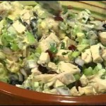 Blueberry Chicken Salad Tacos recipe