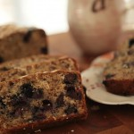 Blueberry Oatmeal Bread recipe