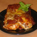 Breaded Five Cheese Cannelloni recipe