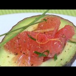 Calming Grapefruit Avocado Salad recipe