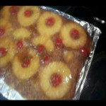 Caramelized Pineapple Upside-Down Cake recipe