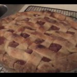 Cherry Lattice Pie recipe