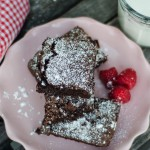 Cherry White Chocolate Chip Brownies recipe