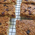 Chewy Fruit & Oat Bars recipe