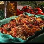 Chicken Cacciatora with Fusilli recipe