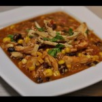 Chicken-Corn-Tortilla Soup recipe