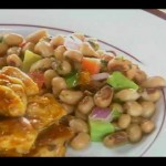 Chicken with Black-Eyed Pea Salsa recipe