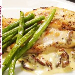 Chicken with Creamy Mushroom Sauce recipe