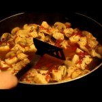 Chicken with Fettuccine in Sage Cream Sauce recipe