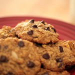 Choc-Oat-Chip Cookies recipe