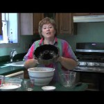 Chocolate Blueberry Bundt Cake recipe