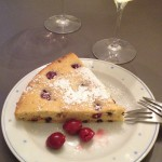 Chocolate Cherry Kuchen recipe