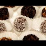 Chocolate-Coconut-Almond Truffle Cookies recipe