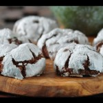 Chocolate Crinkle-Top Cookies recipe