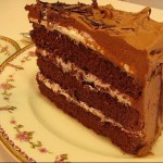 Chocolate Layer Cake with Buttercream Frosting recipe
