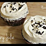 Chocolate or Vanilla Frosted Cupcakes recipe