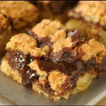 Chocolate Revel Crumb Bars recipe