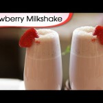 Chocolate-Swirled Strawberry Milk Shakes recipe