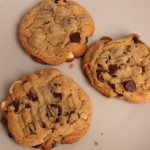 Chunky Chocolate Toffee Cookies recipe