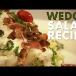 Classic Iceberg Wedge Salad with Blue Cheese Dressing recipe