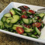 Cool Cucumber Grape Salad recipe