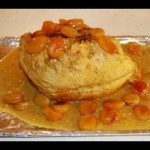 Couscous with Turkey, Apricots and Almonds recipe