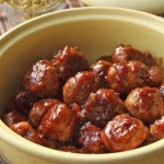 Cranberry Cocktail Meatballs recipe