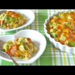 Creamed Eggs Over Parsleyed Rice recipe