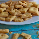 Crispy Brie Crackers recipe