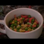 Dilled Corn and Pea Salad recipe
