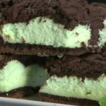 Double Chocolate Mint Bars recipe